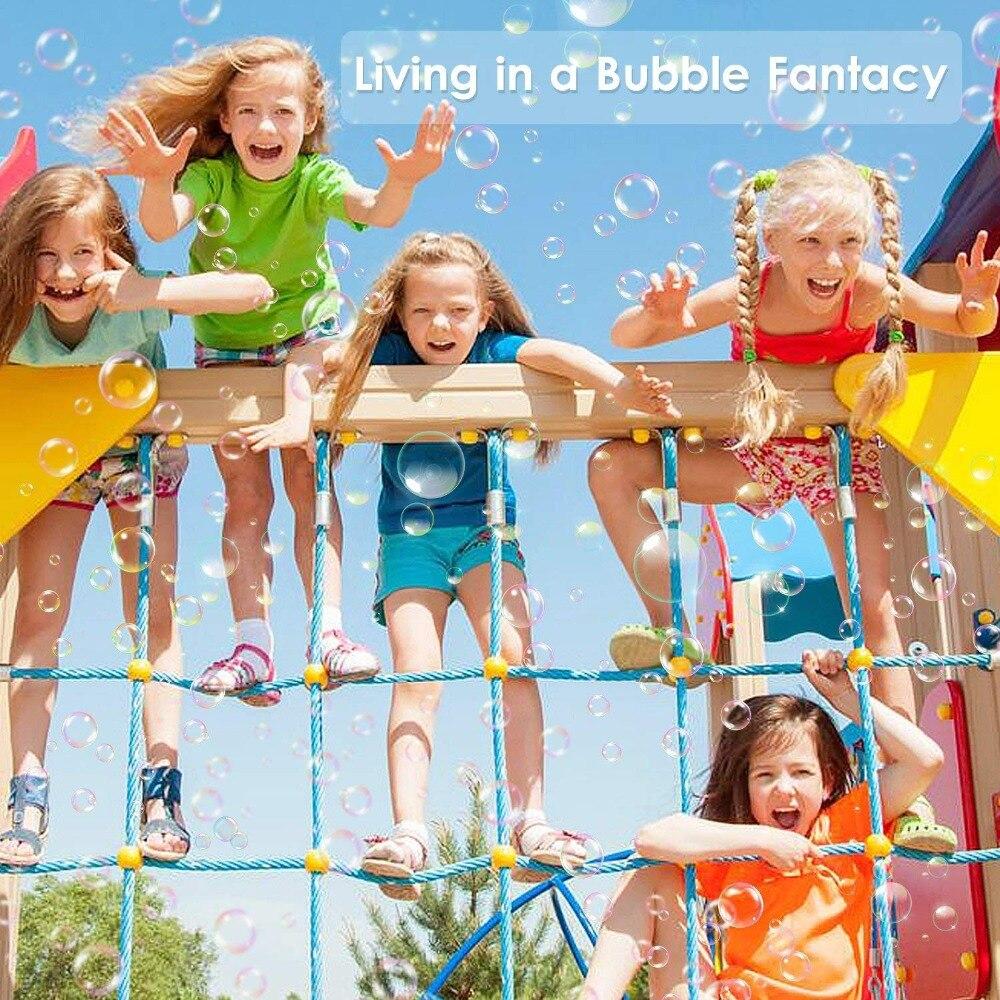 Bubble Machine 2018 neueste Modelle,Durable Bubble Maker Over 800 Colorful Bubble Per Minute For Xmas,Parties,Wedding,Birthday