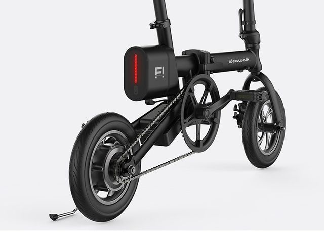 Harga Jual Sepeda Lipat Listrik Dynabike Flex12 Sepeda Listrik Lipat Lipat Kuning Jadi