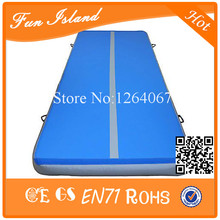 free shipping custom size durable pvc inflatable air tumble gym mat for sale