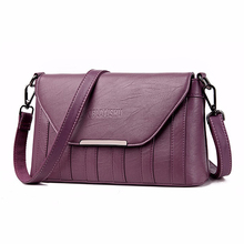 2019 New Elegant Female Shoulder Bags Luxury High Quality Envelope bag  Small Crossbody Bag Purple Red Black Grey