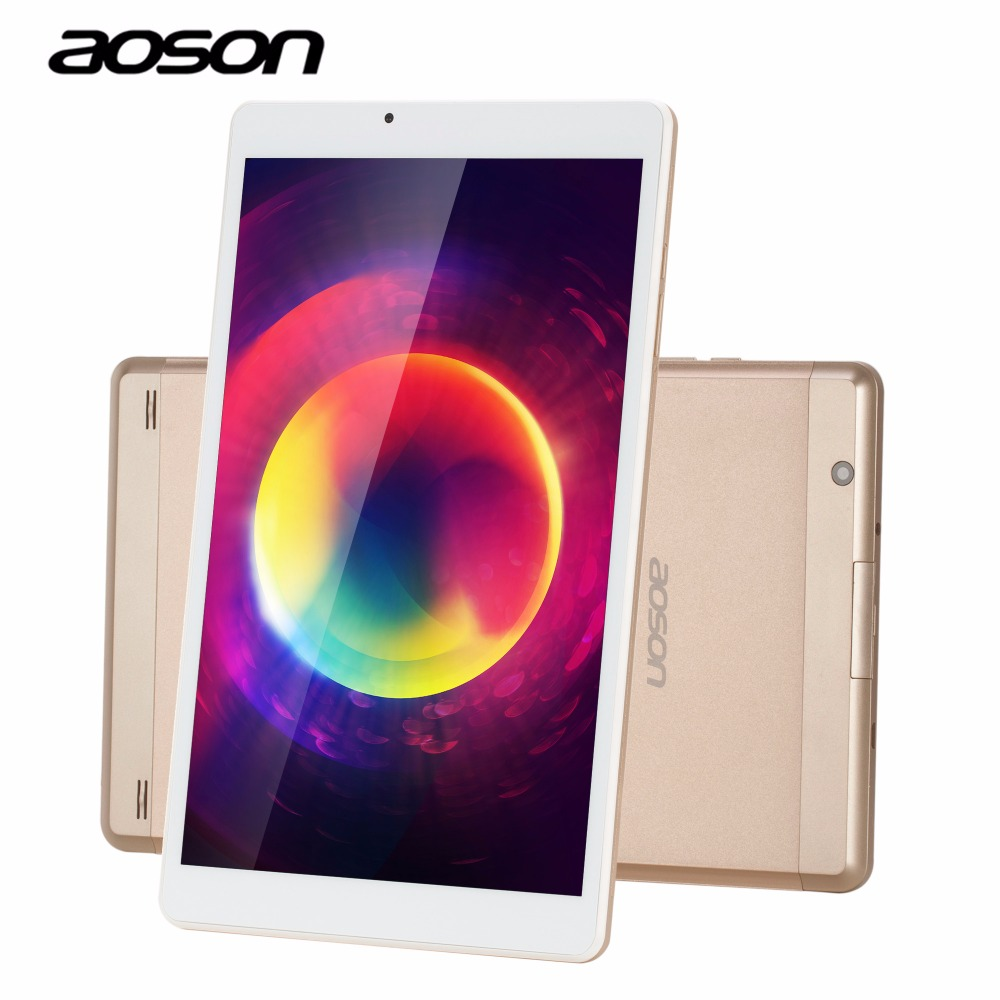 New Aoson R103 2GB RAM 32GB ROM Graphic Tablet Quad Core 1280*800 IPS Display Android 6.0 Tablet 10.1 MTK8163 Netbook Two Camera 8 inch kids quad core tablet kidoz pre installed 2gb ram 16gb rom 1280 800 ips display android 6 0 marshmallow android tablet