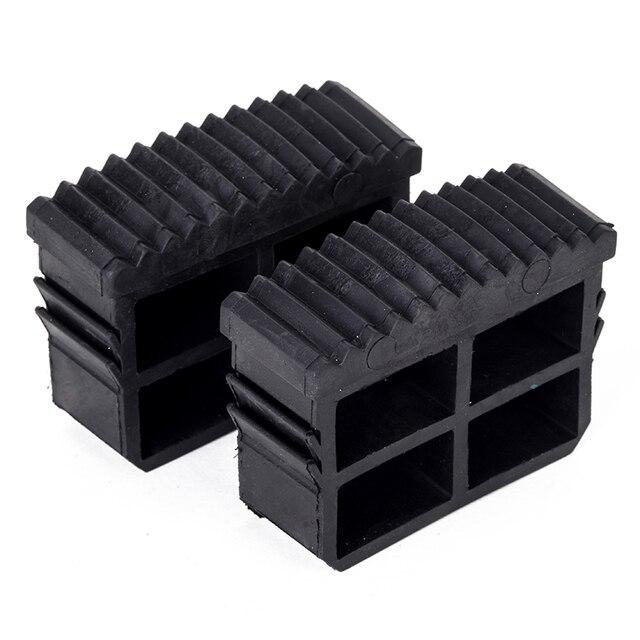 743ce579440 2 unids lote ezescalera de repuesto antideslizante pies escalera de goma  pie para muebles para el hogar pata estera negro duradero