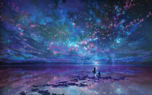 Free Shipping Star Sea Jigsaw Paper 1000 piece puzzles With Colorful Box Package