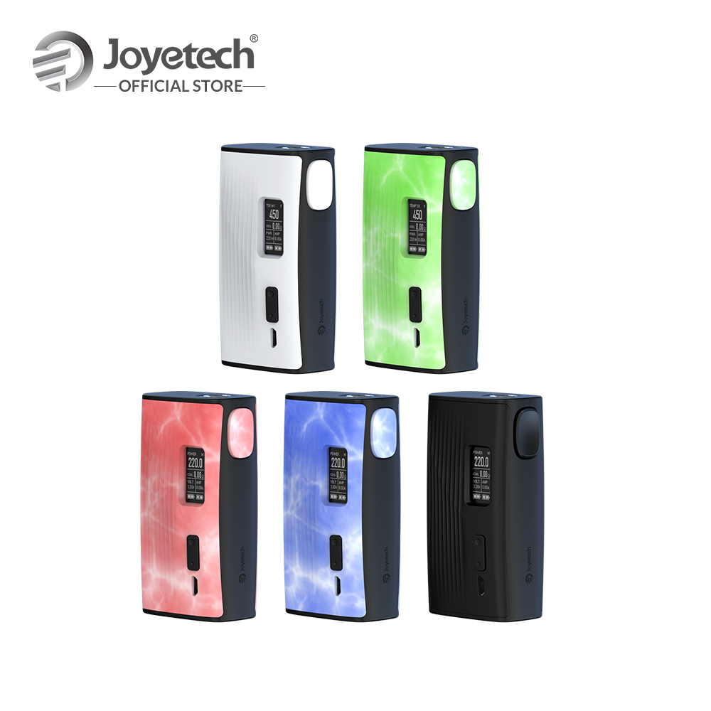 Original Joyetech ESPION Tour Mod Output 220 Wattage POWER/TEMP(NI/TI/SS)/TCR Mode Electronic CigaretteOriginal Joyetech ESPION Tour Mod Output 220 Wattage POWER/TEMP(NI/TI/SS)/TCR Mode Electronic Cigarette