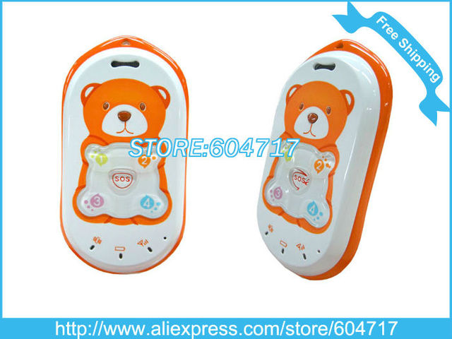 HK Post Free shipping baby  Child care experts/Quad band global GPS+LBS kid cell phone/Retail acceptable