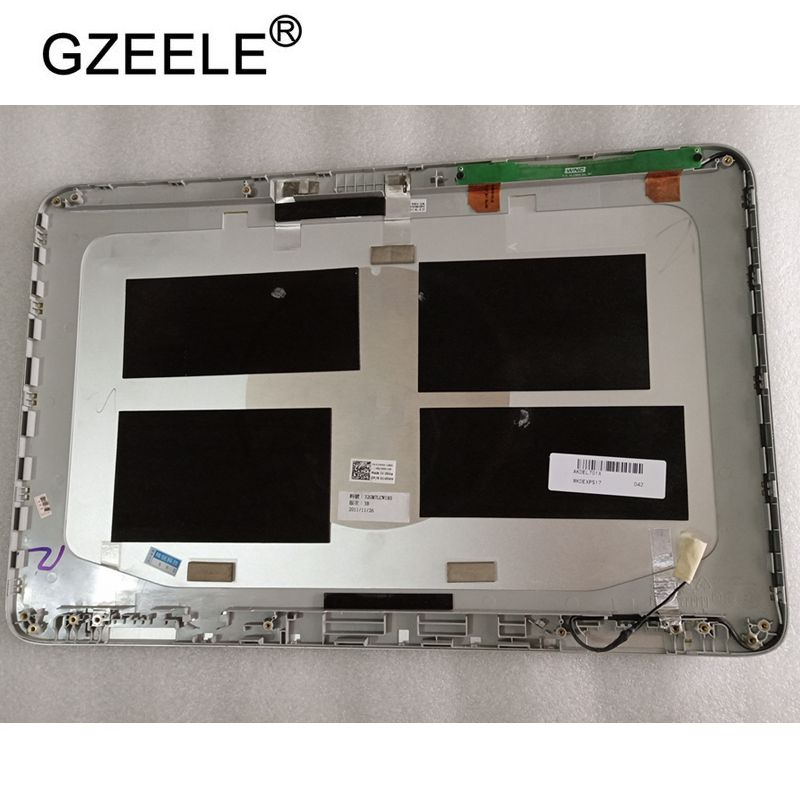 GZEELE used for Dell XPS L701X L702X 17 3 LCD Lid Back Cover 32GM7LCWI60 0MT1N0 076RGV