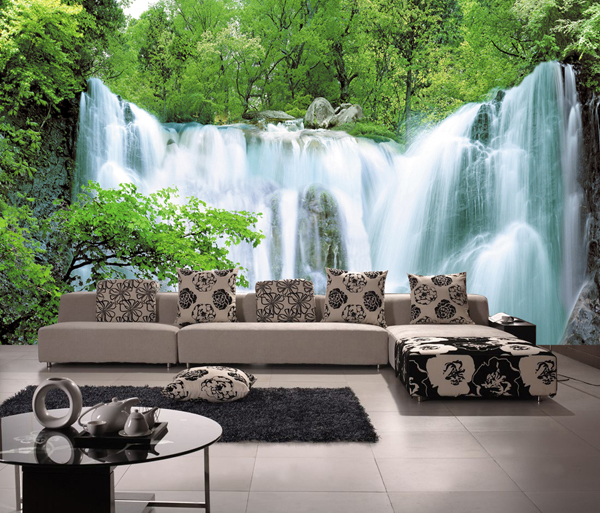custom wallpaper products pattern photo large mural 3d arts waterfall wall paper room TV sofa background bedroom green forest aroma tom sline abr 3 mini booster electric guitar effect pedal with aluminum alloy housing true bypass durable guitar parts