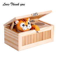Don T Touch It Useless Box Cute Tiger Toy Audio Version With 20 Modes Funny Toys