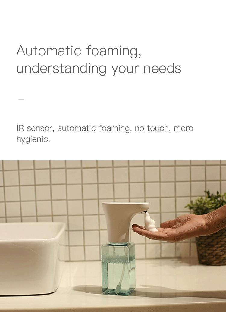 Image 5 - Xiaomi Eco System Brand Lebath Auto Induction Foam Soap Dispenser  Hand Washer Builting Battery Charge 450ML Capacity PK MiniJSmart  Remote Control