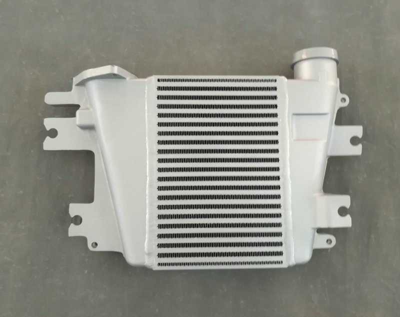 US $160 0 |Direct Fit Aluminum Intercooler 65MM FOR Nissan Patrol GU IV Y61  ZD30 3 0L TD 1997 2018 Bar & Plate Upgrade Dir I 00 07 10 15-in Oil