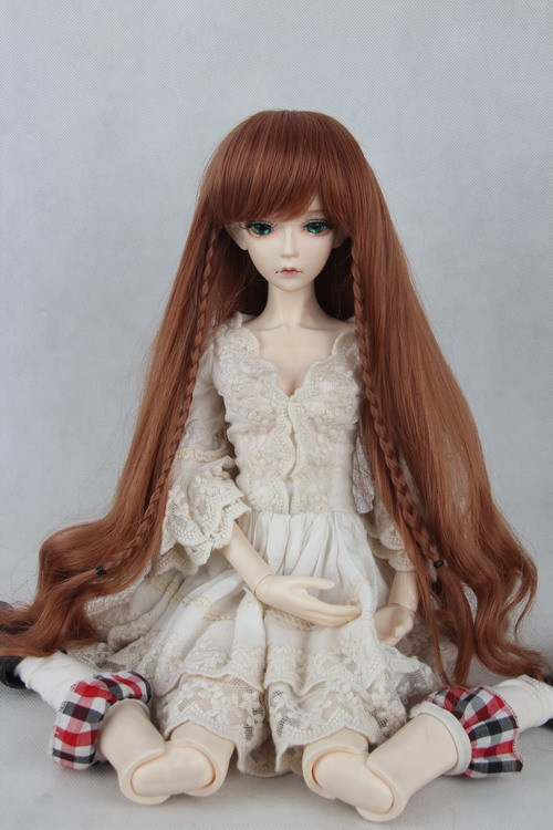 doll wig for BJD/SD 1/3 1/4 Scale BJD wig.variety of colors .A15A1082.only sell wig.Not included doll clothes accessories