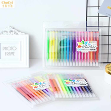 Water-based double-headed watercolor marker set color hand-painted ink painting soft head art supplies