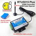 GSM Abridor de Porta De Controle de Acesso Interruptor de Controle Remoto Da Porta Da Garagem Abridor de Bateria Atualizado RTU5024 para RTU5015Plus com app