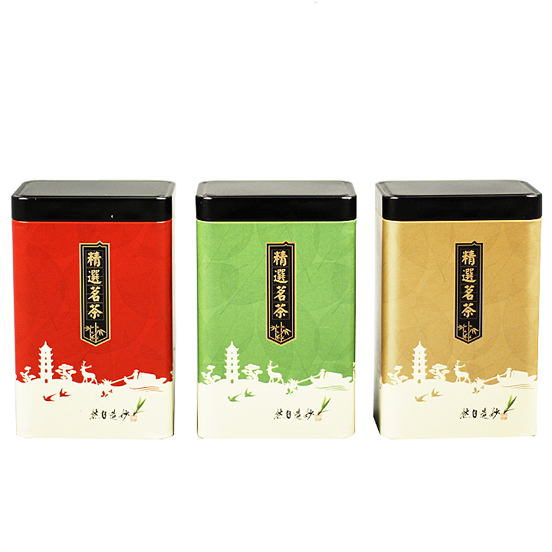 Xin Jia Yi Packaging Box Tinplate 250g Tea Metal Rectangular Preserved Rose Islam Eco-friendly   2018 Hot Large Size Gift Box packaging and labeling