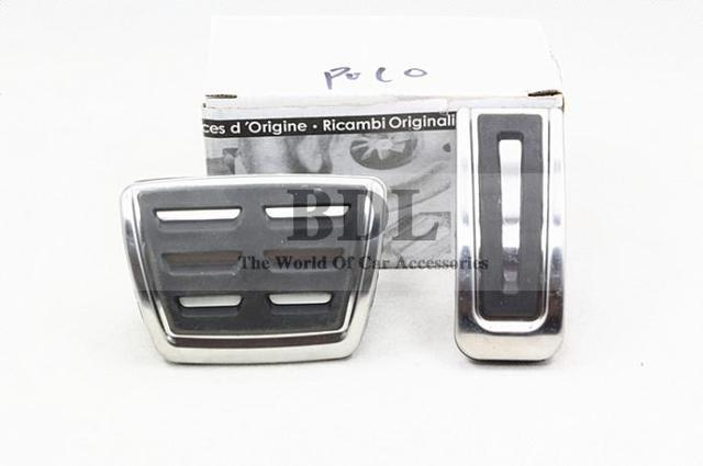 Newest Version Stainless Steel Automatic AT Pedal For VW Polo Bora Golf MK4 IV