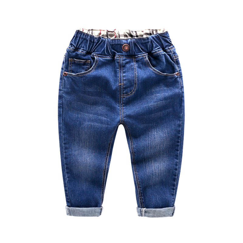 Boys Spring Autumn Jeans Kids Cool Denim Pants All Match Pants Children Clothes For Boys Kids Spring Fashion Boy Jeans Trousers