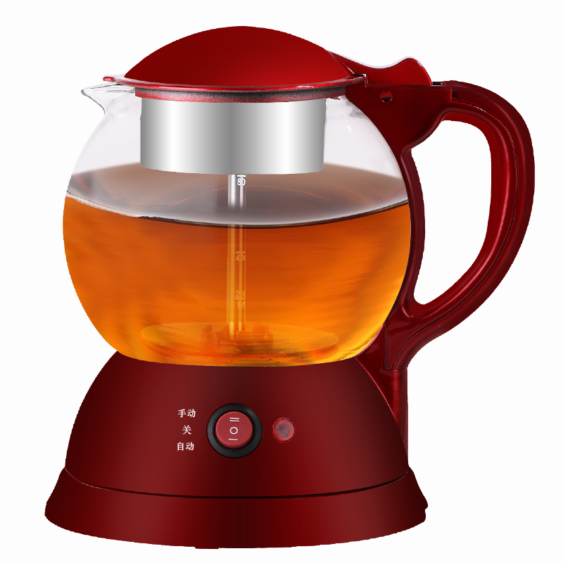 Glass Electric Steamer ~ Steam electric glass teapot stainless steel kettle