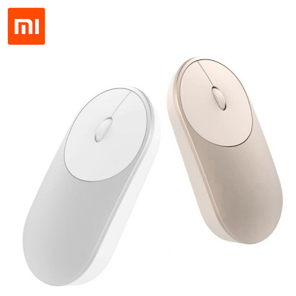 100% Original Xiaomi Mi Portable Mini Wireless Mouse bluetooth 4.0 2.4G Dual Mode Connectivity