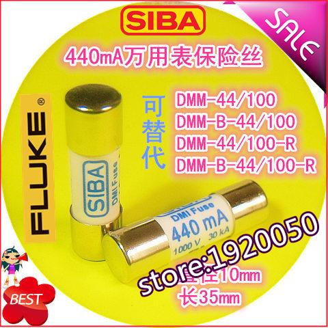 1000V 440mA Alternative DMM-44/100-R DMM-B-44/100 Fuse Tube