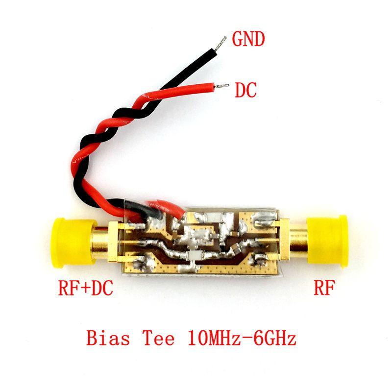 10 MHz-6000 MHz 6GHz amplificador de banda ancha alimentador de radiofrecuencia de banda ancha RF aislador t de polarización