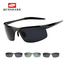 Профессиональные военные Мужские поляризационные солнцезащитные очки, полуоправа, ночная версия, очки для вождения, мужские классические уличные спортивные походные очки