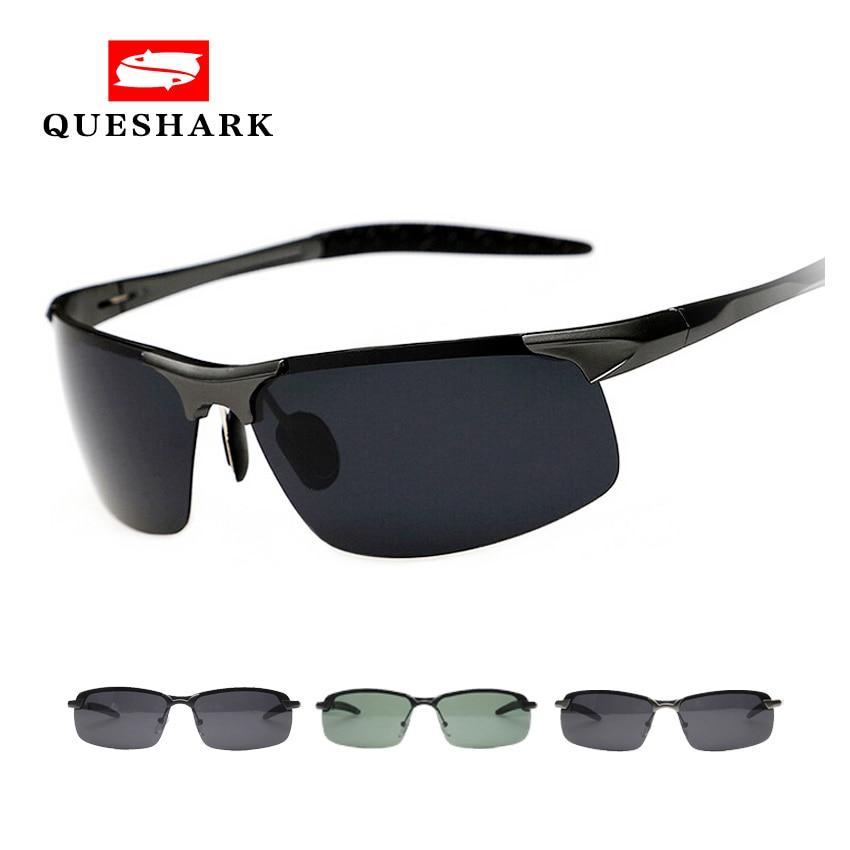 Professional Military Men Polarized Sunglasses Half Frame Night Version Driving Glasses Man Classic Outdoor Sport Hiking Eyewear
