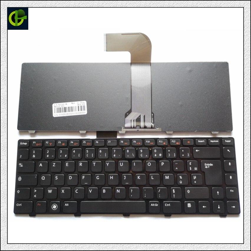 Französisch Azerty Tastatur für DELL Vostro 3550 XPS L502 N4110 N4120 M4110 N4050 M4040 N5050 M5050 M5040 N5040 FR