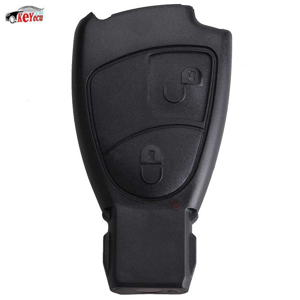 KEYECU New Replacement 2 Button Smart Remote Car Key Fob