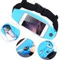 Gimnasio impermeable cintura clip case case bolsa de la pantalla táctil del teléfono celular bolsas Para Leagoo T1 M5 M5 Más, Venture 1, T1 Más Z5 Elite Y