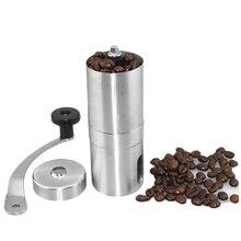 Taşınabilir Manuel Kahve Değirmeni Paslanmaz Çelik Kahve Araçları Bira Için Espresso Fransız Basın