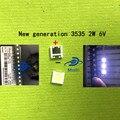 200 шт. для ремонта ЖК-телевизора LG led TV подсветка полосы света с светоизлучающим диодом 3535 SMD светодиодные бусины 6В