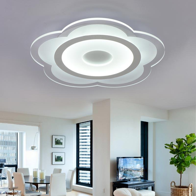 Modern Living Room Bedroom Led Ceiling Lamp Flower Lights For Kitchen Restaurant Hallway Lighting Fixtures