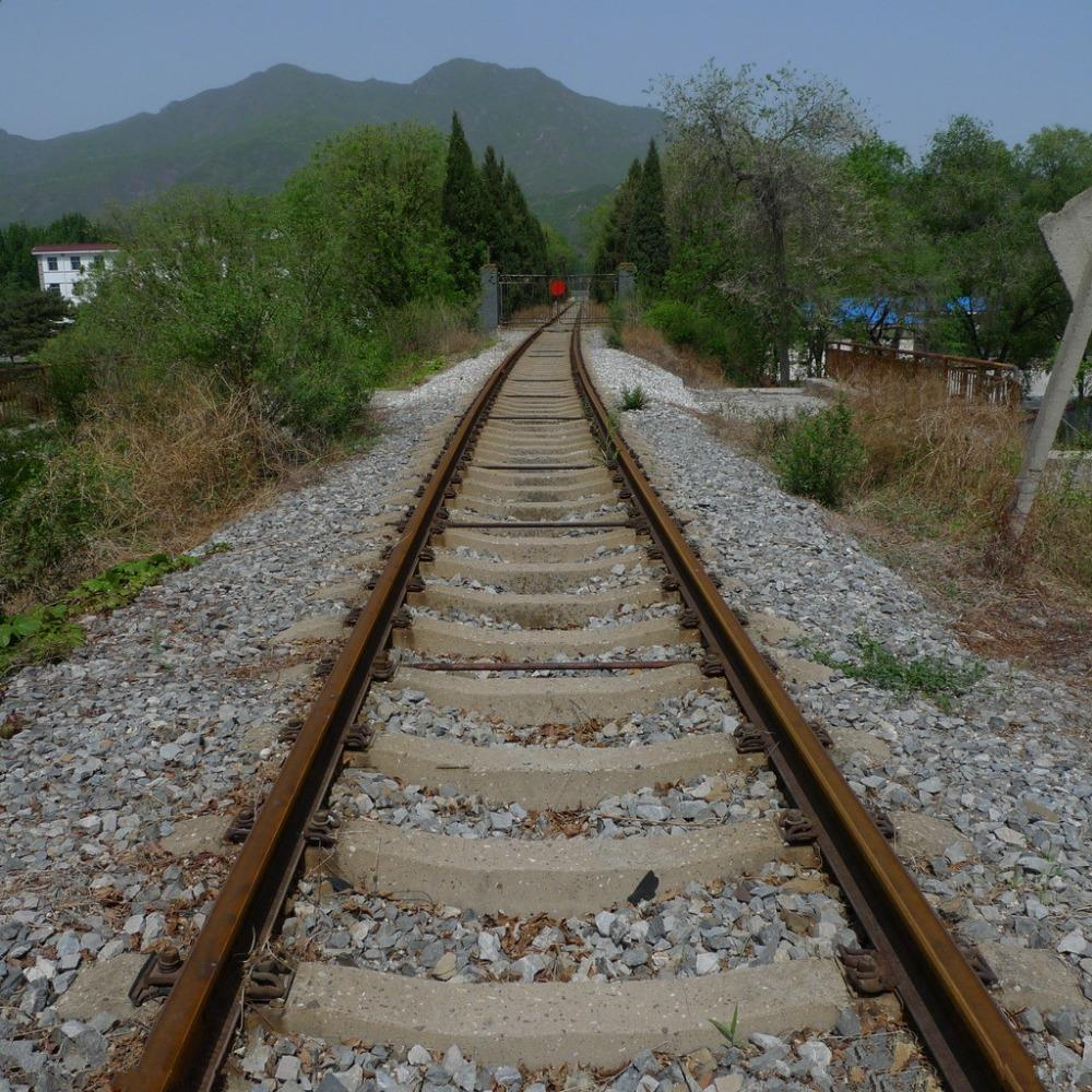 SHENGYONGBAO 3x3m Art Cloth Digital Photography Backdrops Props Photo Studio Background Railway NTG-016
