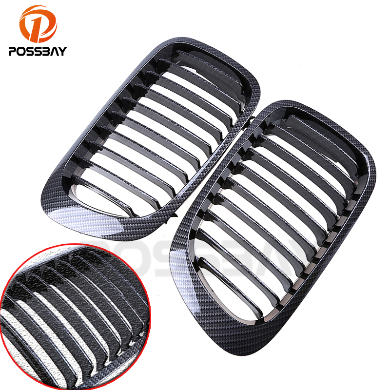 BOSSBAY Car Styling Carbon Black Front Kidney Sport Grille For BMW 3 Series BMW M3 Cabrio