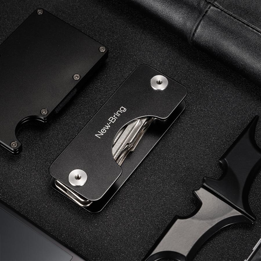 82e9083fea NewBring αλουμινίου μεταλλικό EDC κλειδιά πορτοφόλια Ανδρικά ...