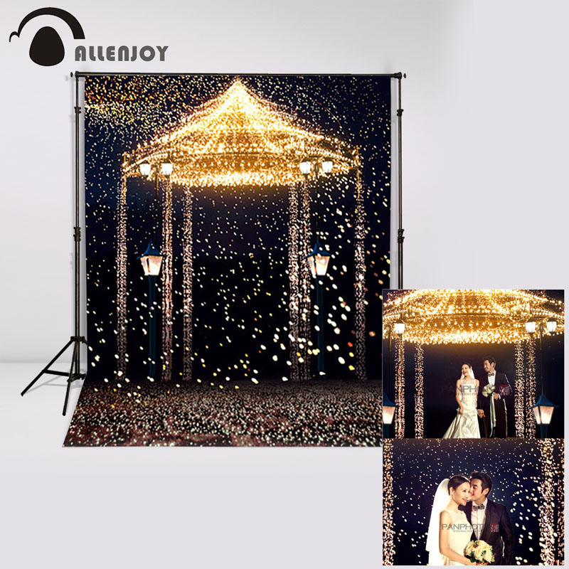 Allenjoy 5ftx7ft Wedding Photo Studio Backdrop Photography Background Star Highlights romantic aesthetic fireworks castle custom allenjoy 10ftx6 5ft fireworks photography backdrop black night romantic wedding background for photography studio without stand