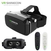 VR Shinecon Oculus Rift Virtual Reality 3D Glasses Google Cardboard VR Headset For 3 5 6