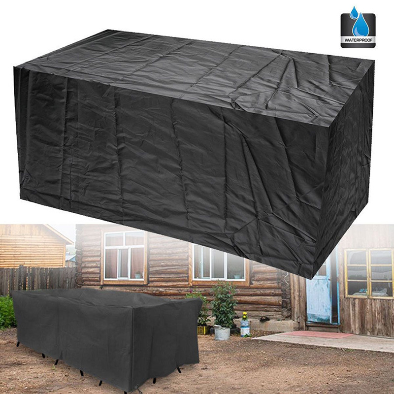 64 L x 26 W x 35 H Patio Bench Cover Waterproof Outdoor Bench Cover with Durable 210D Oxford Material+ Extra PVC Coating Silvotek 3 Seater Garden Bench Cover