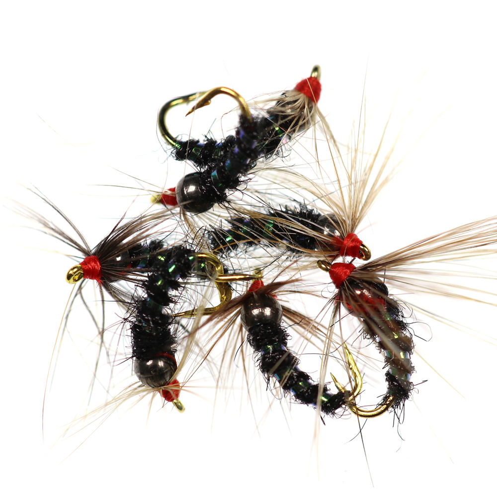Weighted size 18 Prince Nymph - 6 pcs