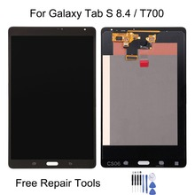 For Galaxy Tab S 8.4 / T700 LCD Display + Touch Panel Replacement for Galaxy Tab S 8.4 / T700 стоимость