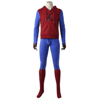Spider Man Cosplay Costume Homecoming Peter Benjamin Parker Spider Man Cosplay Halloween SpiderMan Outfit Cosplay Custom Made