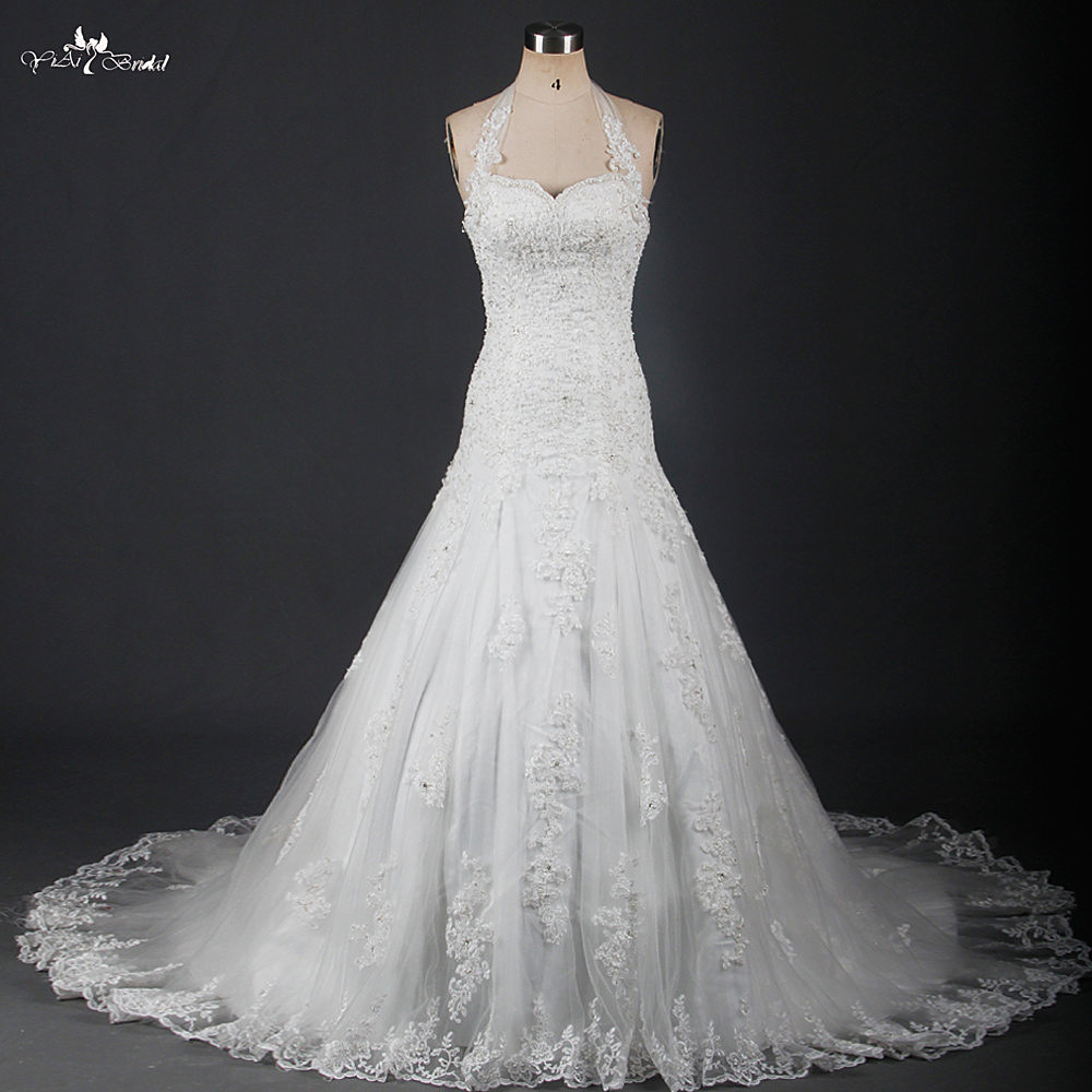 b1f746620 RSW911 الساحرة زين أثواب الزفاف vestidos دي noiva المحكمة قطار الرباط  فساتين زفاف البوق حورية. access