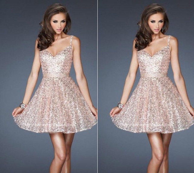 Cocktail Dresses Ever Pretty Summer Styles New Arrival Hot Sexy beading  Knee Length sequined Cocktail Party Dresses