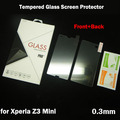 Full Body Tempered Glass for Sony Xperia Z3 Compact Screen Protector Front Back Explosion-Proof Film for Xperia Z3 Mini Guard