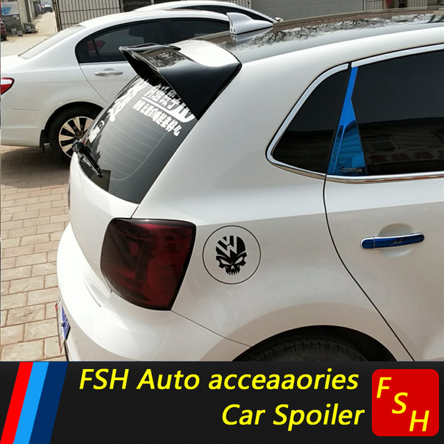 Polo5 Polo Hatchback 5 Door 5th Generation Polo: For VW Polo Oettinger Spoiler ABS Material Car Rear Wing