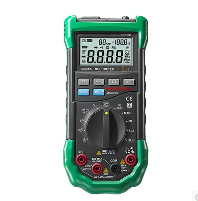 Auto Range Digital Multimeter MS8268 Full protection ac/dc ammeter voltmeter ohm Frequency electrical tester diode test lcd range auto digital pocket voltmeter multimeter tester tool ac dc xb 866 mini