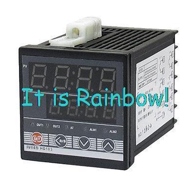 AC 110-220V K Thermocouple SSR PID Digital Temperature Control Controller