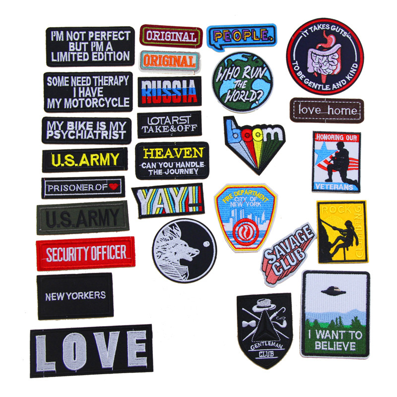 New Arrival 10 Pcs Cute Cartoon Embroidered Patch Iron On Jeans Coat Tshirt Bag Shoe Hat Decor Repair Motif Emblem Accessory Diy High Resilience Arts,crafts & Sewing