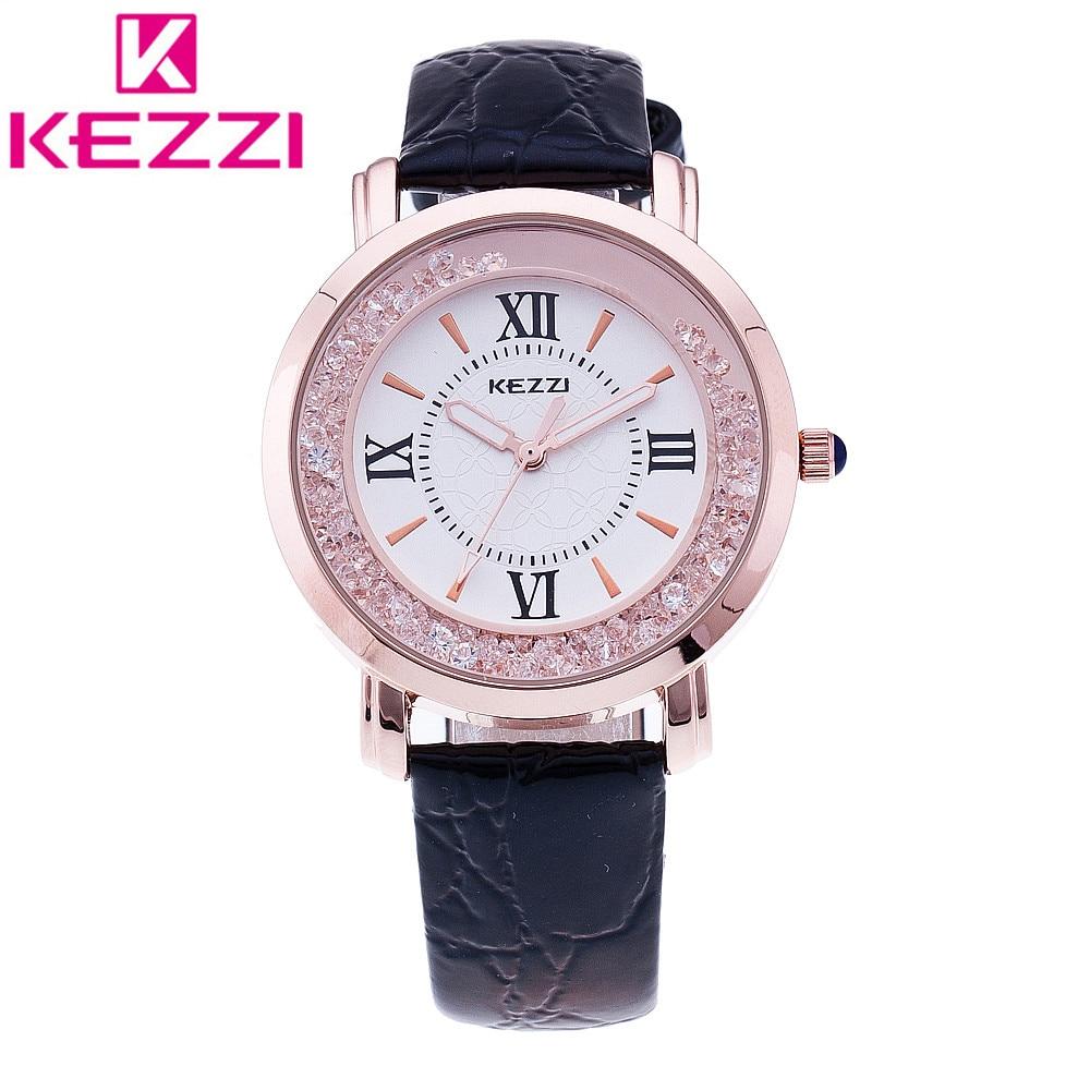 KEZZI K-747 Brand Fashion Women Wristwatch Ladies Luxury Quartz Watch Relogio Feminino Gift 1021 аккумулятор digicare plc e10 for canon eos 1100d