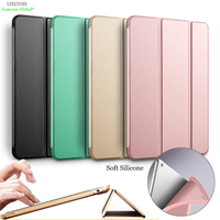 For IPad Pro Case 360 Rotation PU Leather Case For Apple IPad Air 5 Smart Cover
